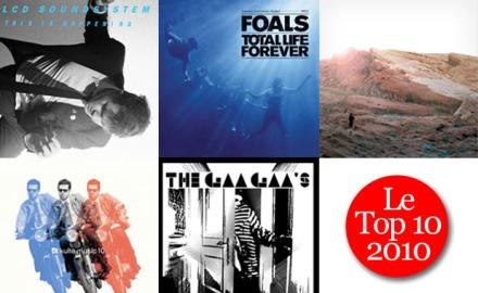 Le Top 10 de 2010